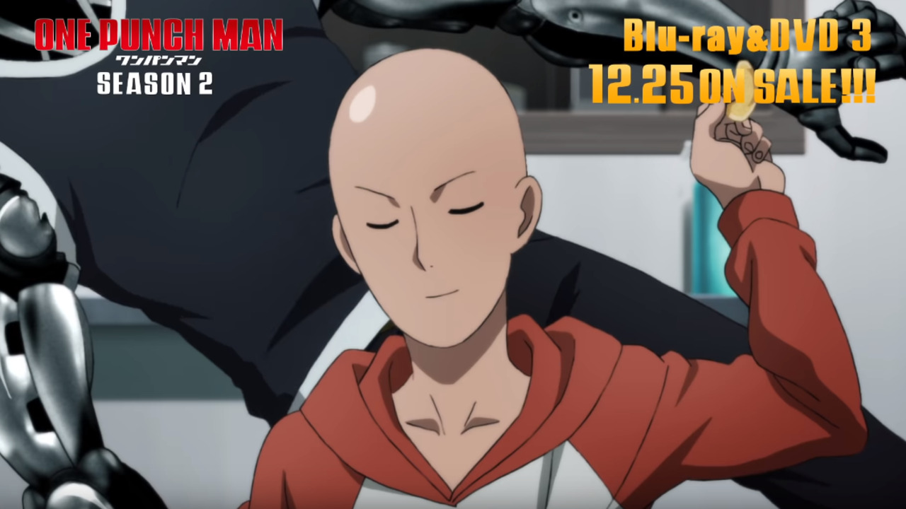 One Punch Man Season 2 Ova Special S New Trailer Is Released Manga Thrill