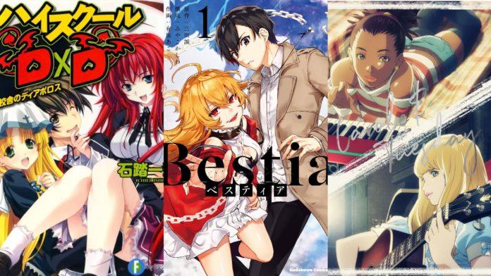 Yen Press Adds High School DxD, Carole & Tuesday, Bestia & 11 More Manga/Novels