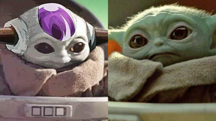 Baby Yoda meets Baby Freeza in this Adorable Dragon Ball Crossover
