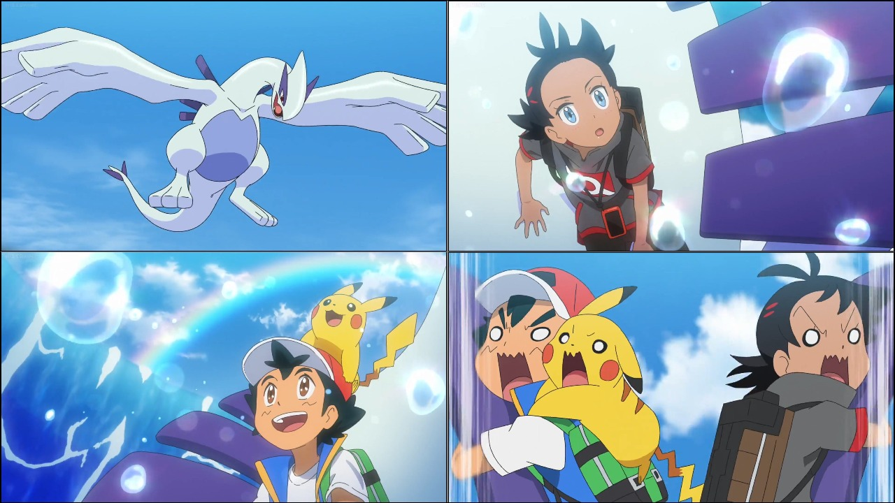 Ash and Lugia