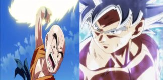 Dragon Ball Super Artwork Brought Ultra Instinct Krillin Back To Life