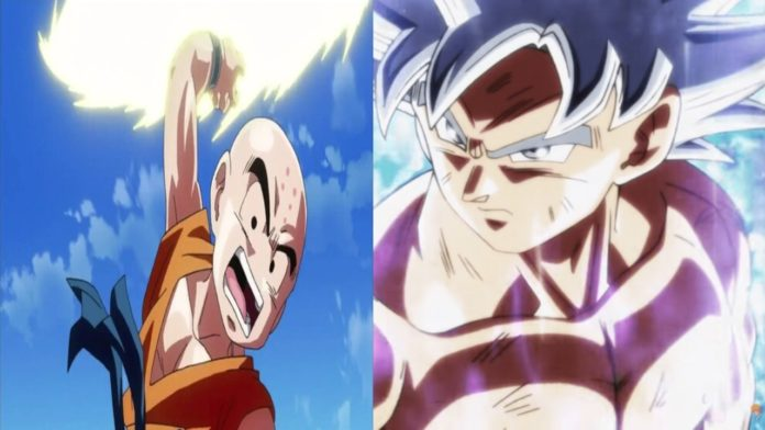 Dragon Ball Super Artwork Brought Ultra Instinct Krillin Back To Life