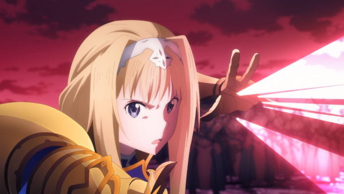 Sword Art Online: Alicization War of Underworld First Cour's Finale Teased