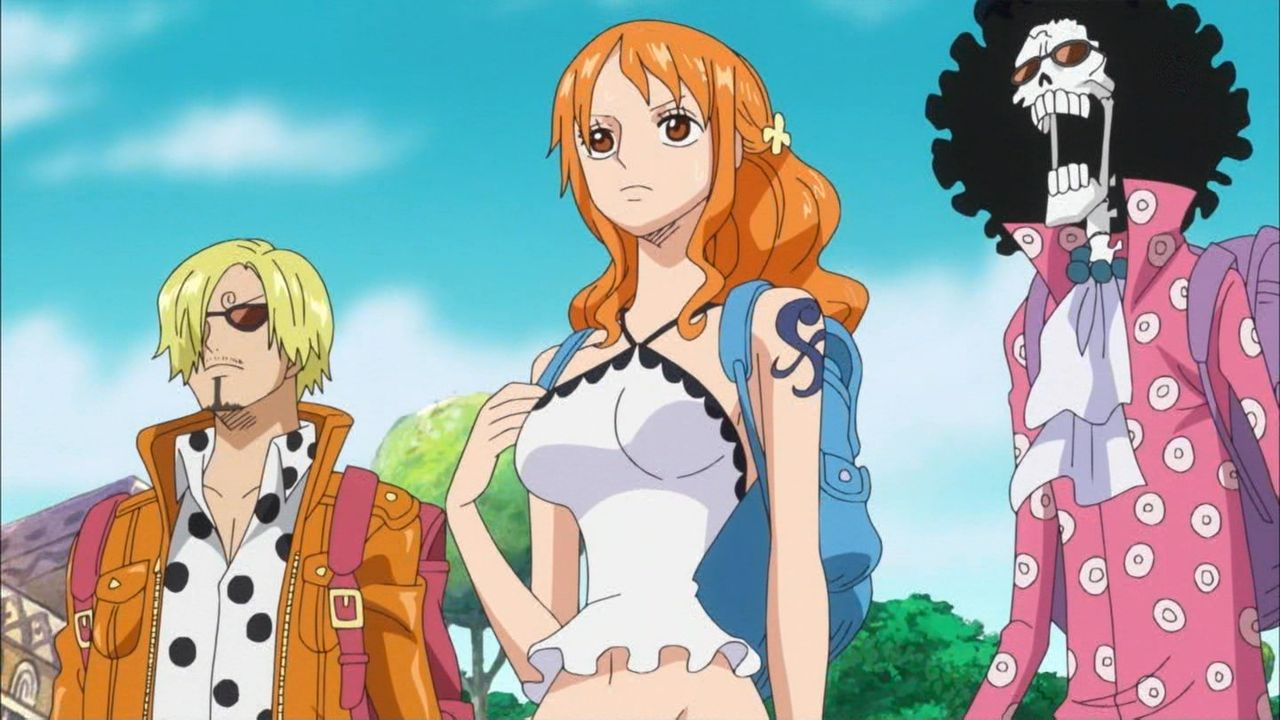 One Piece Nami Novel