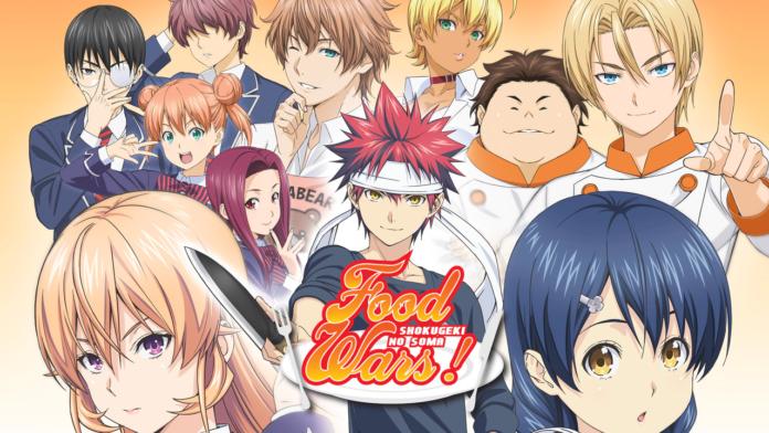 Food Wars! Shokugeki no Soma Anime