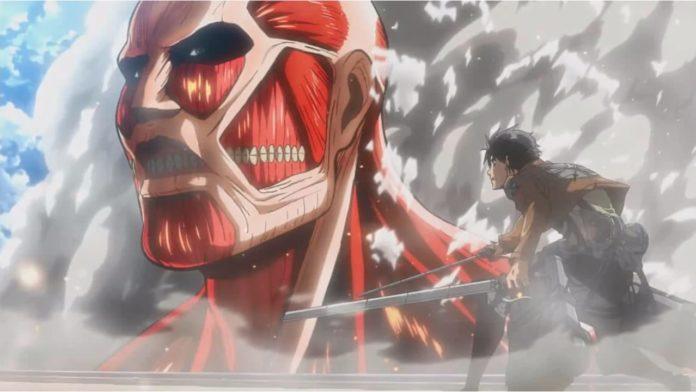 Attack on Titan Colossal Titan
