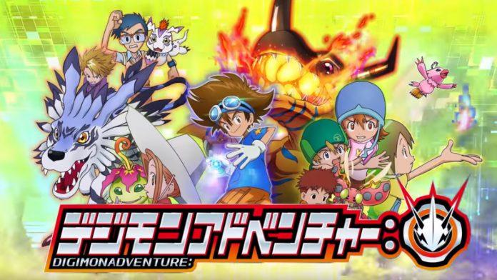 New Digimon Adventure Anime