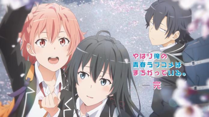 My Teen Romantic Comedy SNAFU Season 3 Anime's Theme Songs Revealed