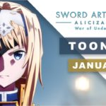 Sword Art Online: Alicization - War of Underworld Anime Comes İn Toonami On January 18
