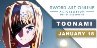 Sword Art Online: Alicization War Of Underworld İn Toonami