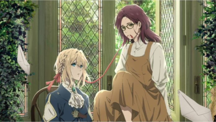 Violet Evergarden I: Eternity and the Auto Memory Doll Anime