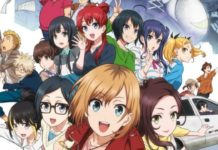 Shirobako Anime Film's New Key Visual Released