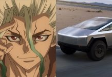 Dr. Stone Surprises Fans with Tesla's Cybertruck in the New Chapter