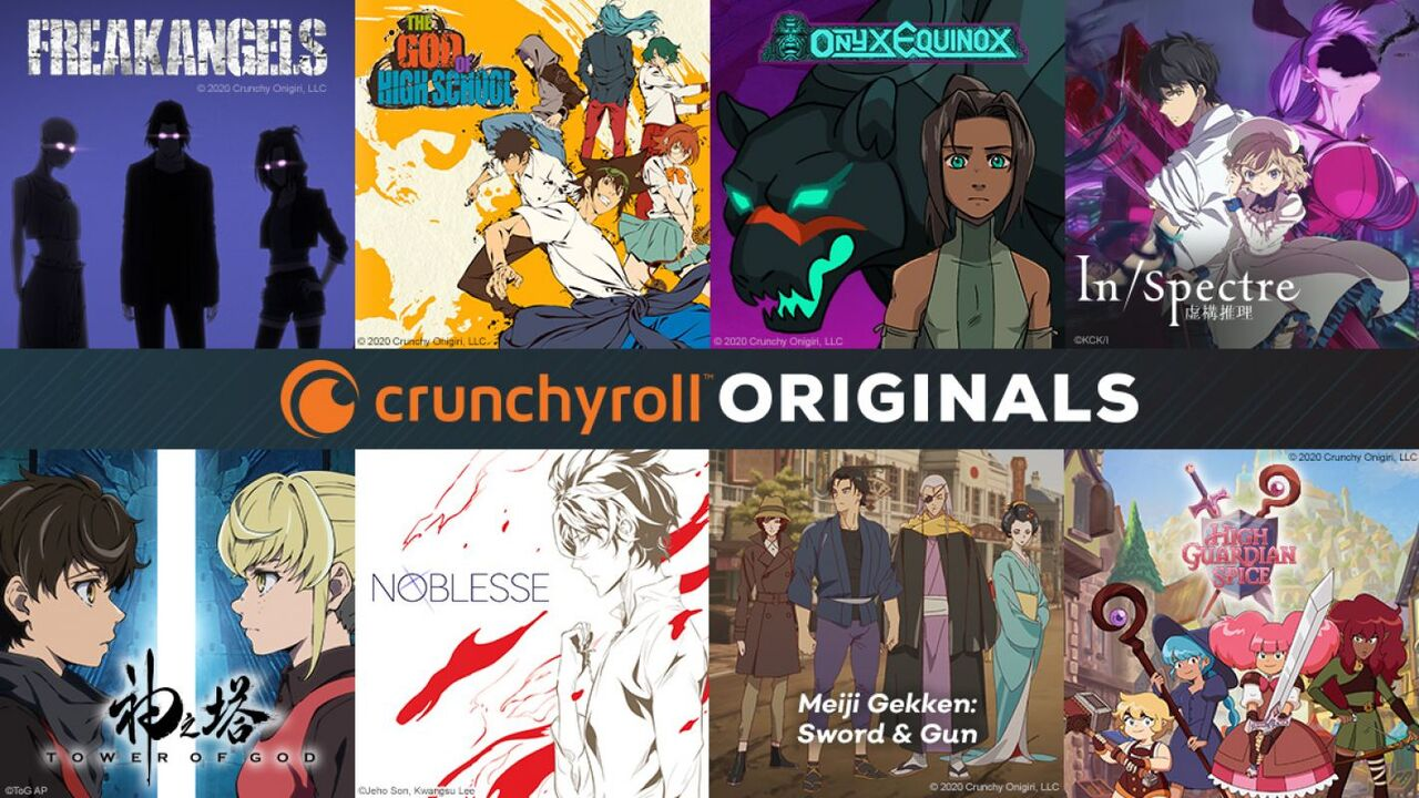 "Crunchyroll Announces 8 New ""Crunchyroll Originals"" Anime Series Including Tower of God, The God Of High School and Many More"