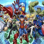Disney+ Adds Marvel Future Avengers Anime Series