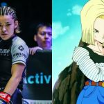 MMA Fighter Itsuki Harata Poses As Dragon Ball Character Android 18