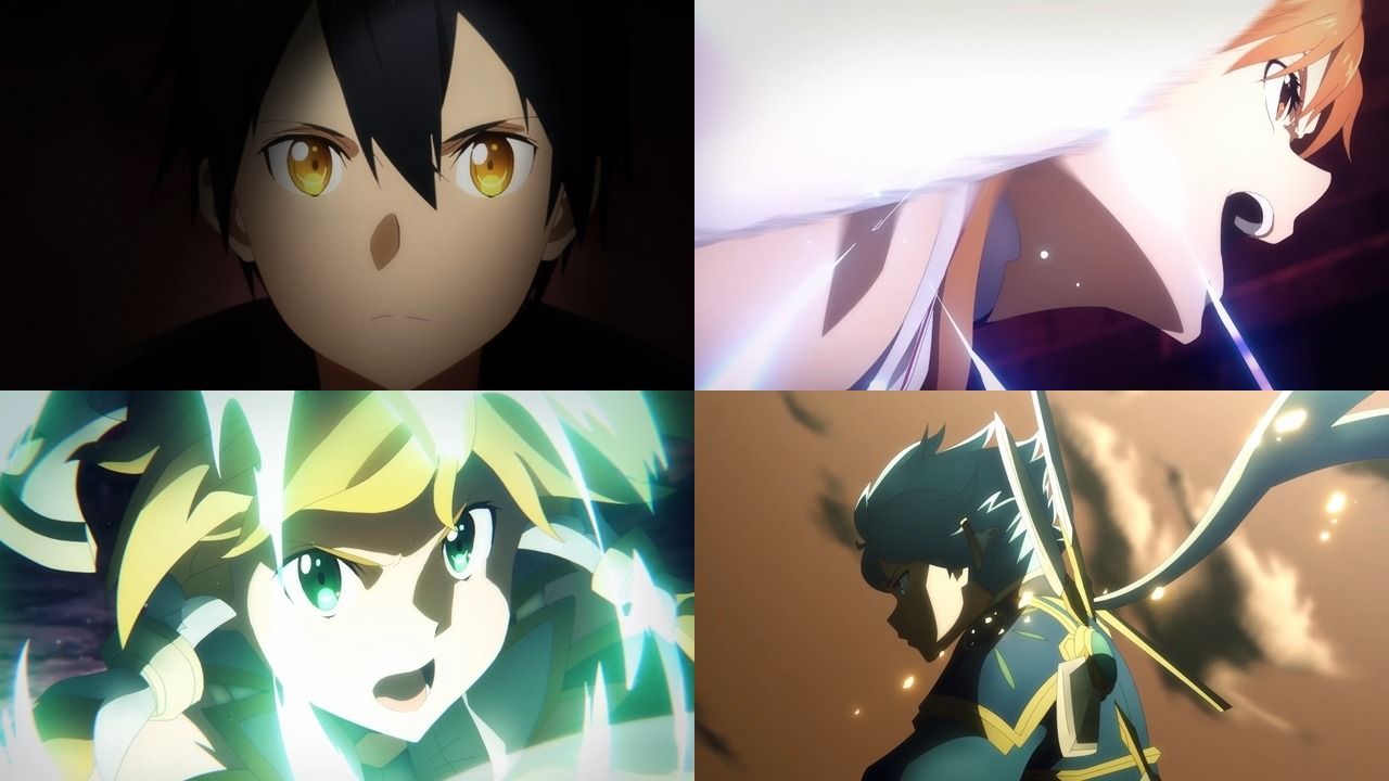 Sword Art Online: Alicization -War of Underworld 2nd Cour Trailer ...