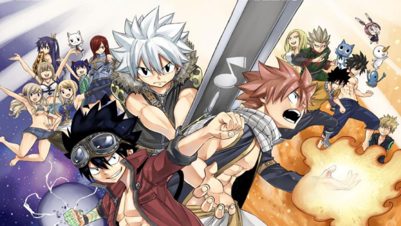 Hiro Mashima Announces New Crossover Between (Fairy Tail, Edens Zero and Rave Master) Spin-Off Heroines