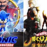 Sonic the Hedgehog Film Ranks #4th & My Hero Academia: Heroes Rising Ranks #10th At United States Box Office