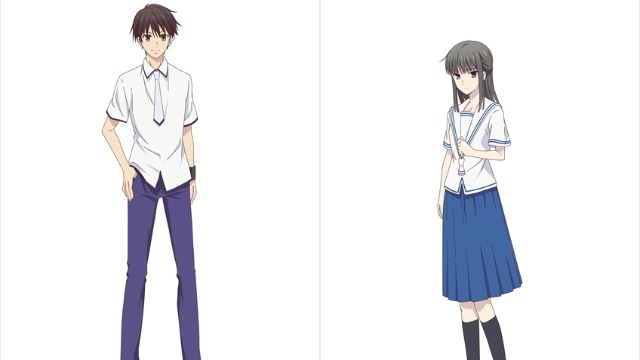 Fruits Basket Season 2 New Student Council Character Designs Revealed