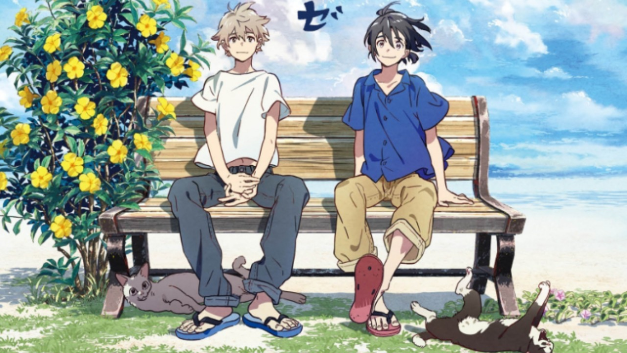 Teaser do filme de anime de Umibe no Étranger, Love-Boys mostra encontro Mio e Shun