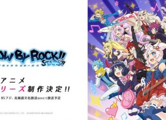 Show By Rock!! Stars!! New TV Anime Confirmed