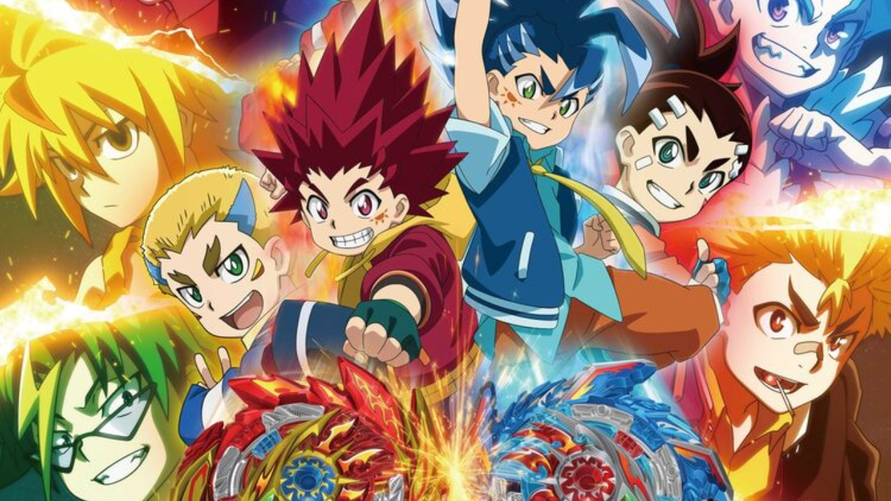 New Beyblade Burst Sparking Anime Begins on April 3 | Manga Thrill