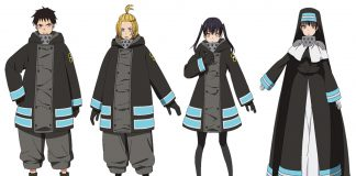 Fire Force Releases Season 2 Character Designs