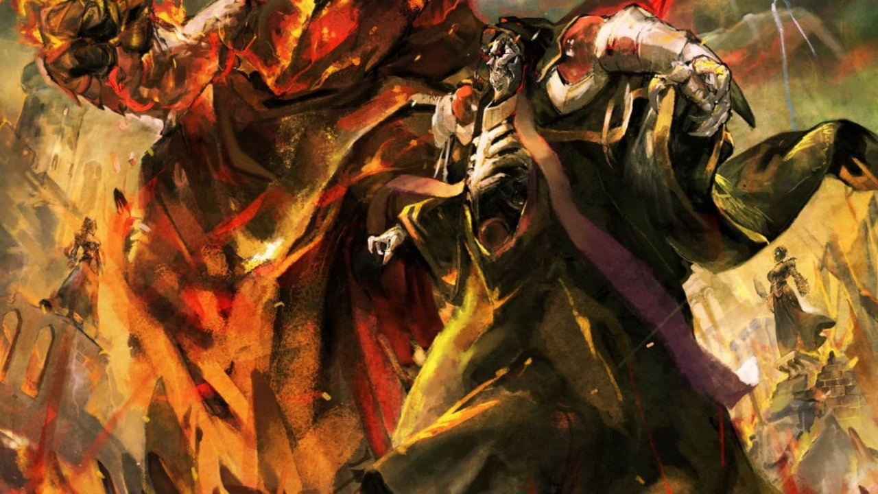 Overlord Light Novel Series Will End With 17th Volume