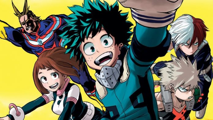 Shueisha Officially Confirms 5th Season of My Hero Academia