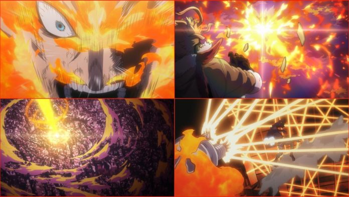 My Hero Academia Fans Are Blown Away Over Endeavor's Plus Ultra Fight Animation