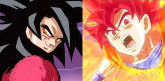 Super Saiyan God Or Super Saiyan 4
