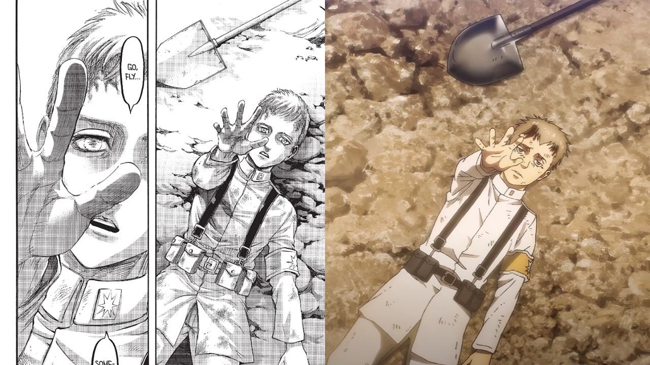 Attack on Titan Season 4 Anime Trailer vs Manga Compared | Manga Thrill