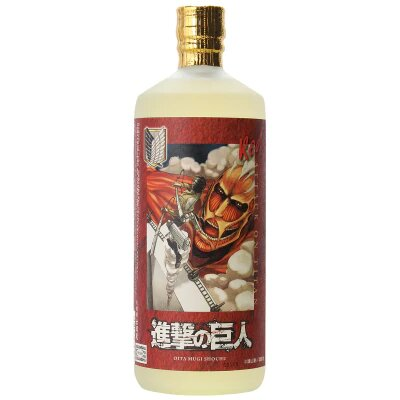 Attack on Titan In Collaboration With Oimatsu Brewing To Release Shochu Liquor
