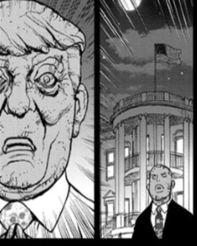 Donald Trump Turned Into Stone In A Recent Dr. Stone Chapter