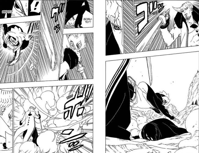Boruto Just Saved Sasuke From A Death Moment