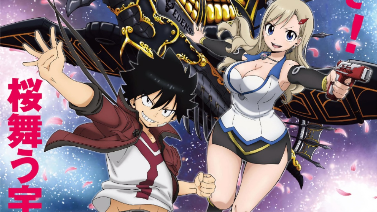 Hiro Mashima's Edens Zero Anime Shows The First Character Designs