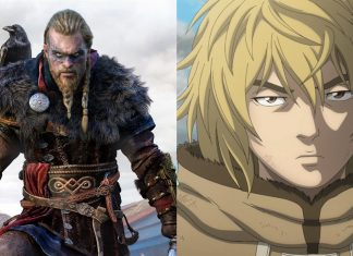 Vinland Saga and Assassins Creed Valhalla