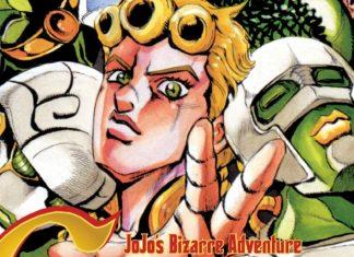 JoJo's Bizarre Adventure: Golden Wind Manga