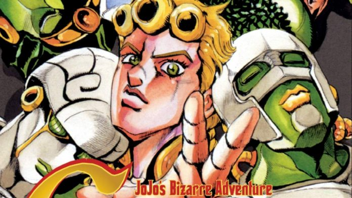 JoJo's Bizarre Adventure: Golden Wind Manga