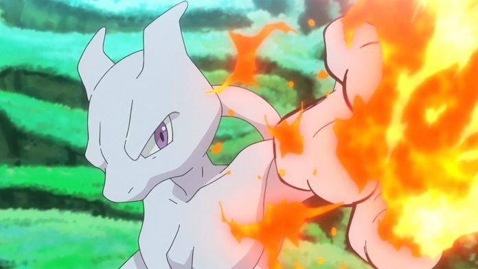 Mewtwo in Pokemon Journeys