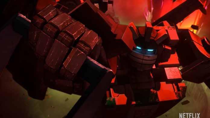 Transformers: War for Cybertron Trilogy - Earthrise Anime Premieres on December 30 on Netflix