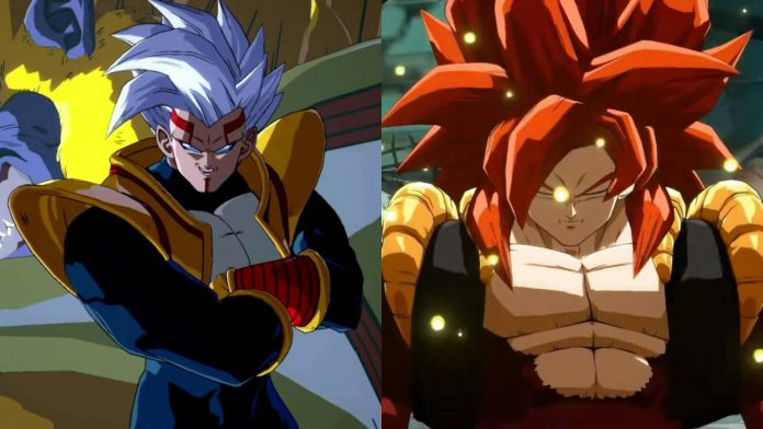 Dragon Ball FighterZ SS4 Gogeta and Super Baby 2