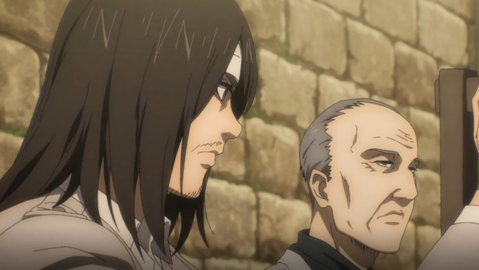 Eren and Mr. Yeager