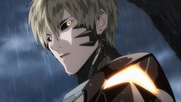 one punch man genos fusion
