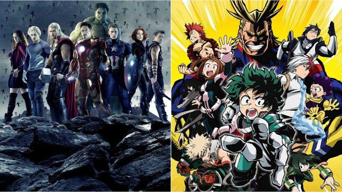 My Hero Academia x Avengers