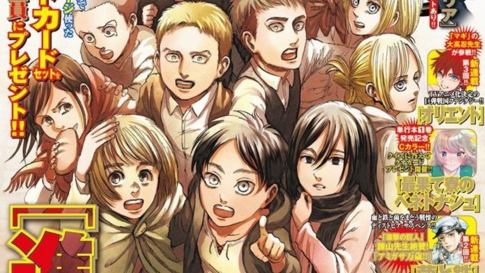 Attack on Titan Chapter 139