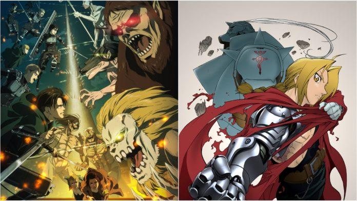 Attack on Titan and Fullmetal Alchemist